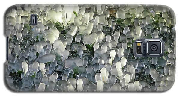 Ice On The Lawn Galaxy S5 Case