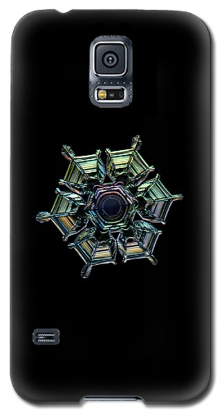 Ice Relief, Black Version Galaxy S5 Case