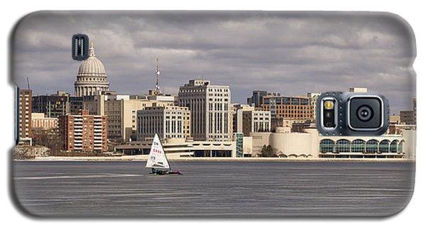Ice Sailing - Lake Monona - Madison - Wisconsin Galaxy S5 Case