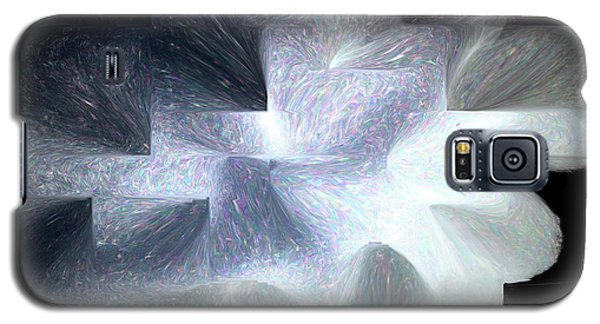 Ice Throne Abstract Galaxy S5 Case by Aliceann Carlton