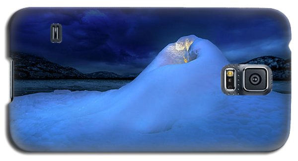 Galaxy S5 Case featuring the photograph Ice Volcano by John Poon