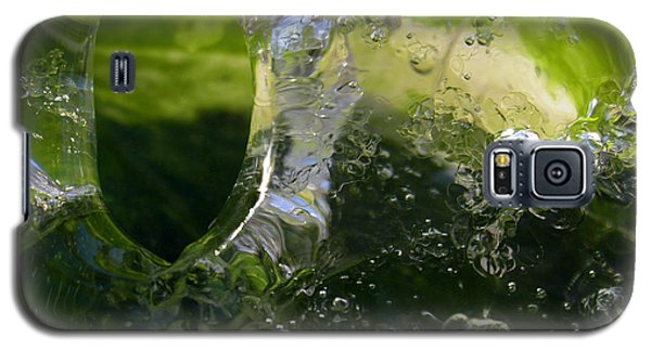 Galaxy S5 Case featuring the photograph Ice Window by Sami Tiainen