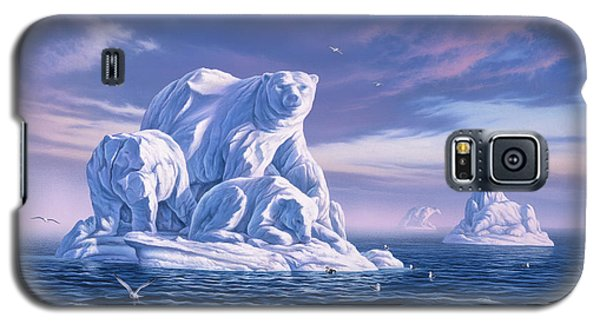 Seagull Galaxy S5 Case - Icebeargs by Jerry LoFaro