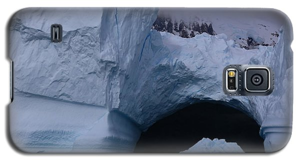 Galaxy S5 Case featuring the photograph Iceberg Passthrough by Andrei Fried