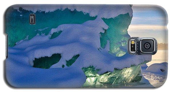 Iceberg's Glow - Mendenhall Glacier Galaxy S5 Case by Cathy Mahnke
