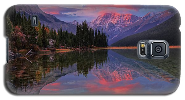 Icefields Parkway Autumn Morning Galaxy S5 Case