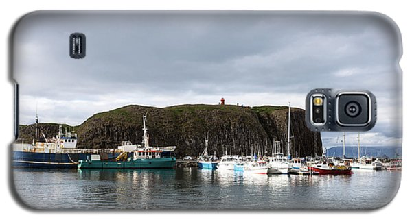Iceland Fisherman Harbor Galaxy S5 Case