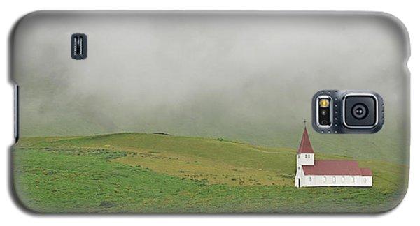Galaxy S5 Case featuring the photograph Icelandic Chapel by Joe Bonita