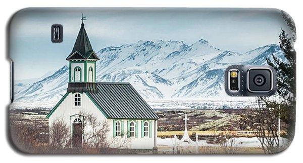 Icelandic Church, Thingvellir Galaxy S5 Case