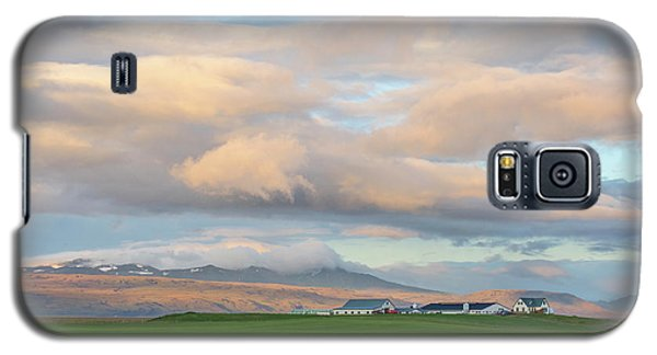 Galaxy S5 Case featuring the photograph Icelandic Farmhouse by Brad Scott