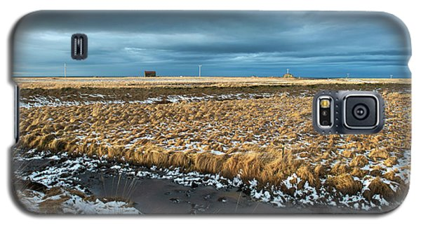 Galaxy S5 Case featuring the photograph Icelandic Landscape by Dubi Roman