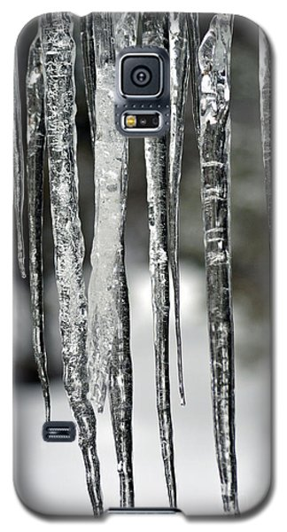 Galaxy S5 Case featuring the photograph Icicles by Juls Adams