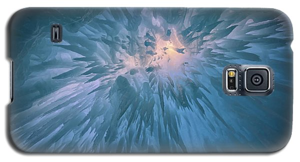 Galaxy S5 Case featuring the photograph Icicles by Rick Berk