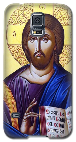 Icon Of Christ In Jericho Galaxy S5 Case by Munir Alawi