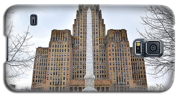 Iconic Buffalo City Hall In Winter Galaxy S5 Case