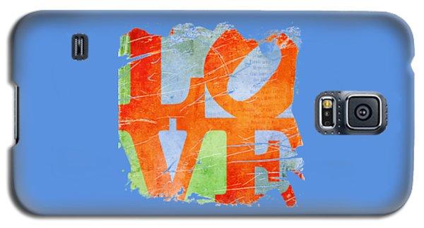 Iconic Love - Grunge Galaxy S5 Case