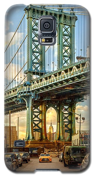 Sunset Galaxy S5 Case - Iconic Manhattan by Az Jackson