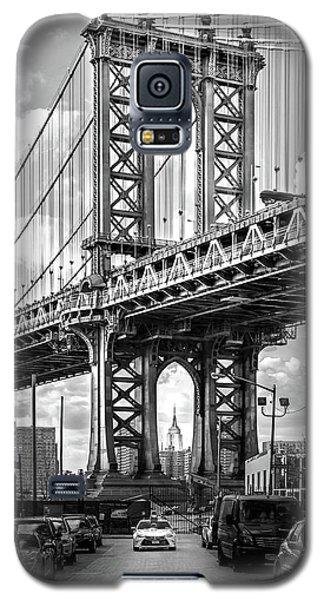 Iconic Manhattan Bw Galaxy S5 Case
