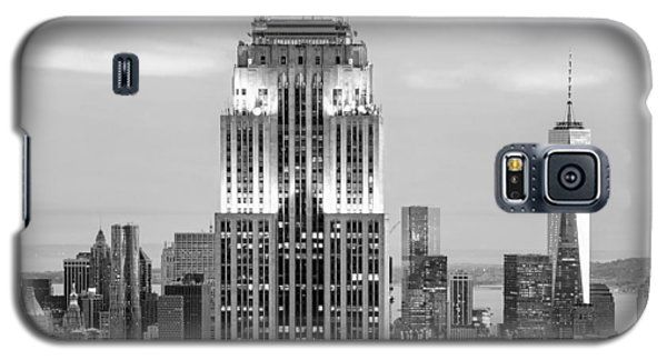 Empire State Building Galaxy S5 Case - Iconic Skyscrapers by Az Jackson