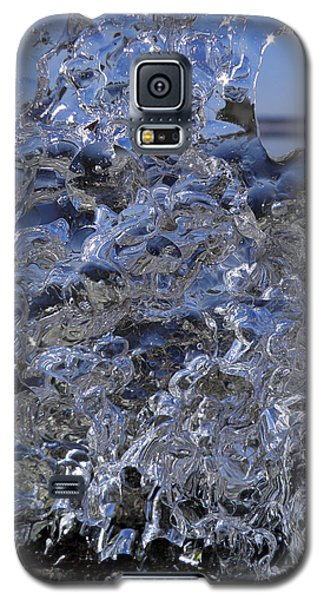 Galaxy S5 Case featuring the photograph Icy Beach View 1 by Sami Tiainen