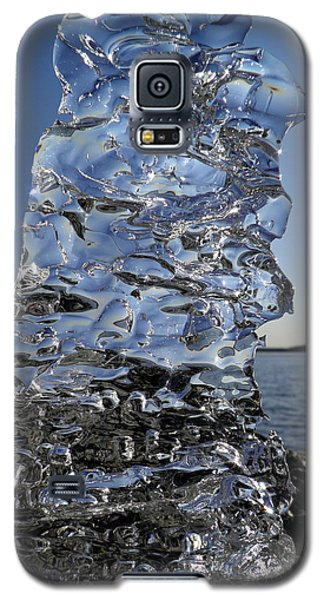 Galaxy S5 Case featuring the photograph Icy Beach View 3 by Sami Tiainen