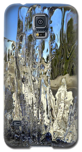 Icy Beach View 5 Galaxy S5 Case