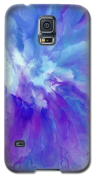 Icy Bloom Galaxy S5 Case