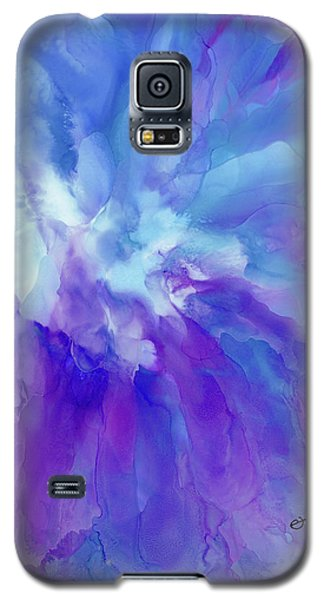 Icy Bloom Galaxy S5 Case
