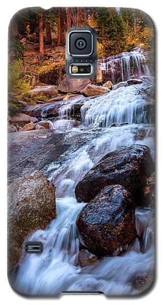 Icy Cascade Waterfalls Galaxy S5 Case