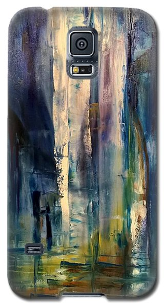 Icy Cavern Abstract Galaxy S5 Case