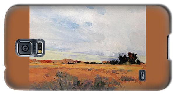Galaxy S5 Case featuring the painting Idaho by Helen Harris