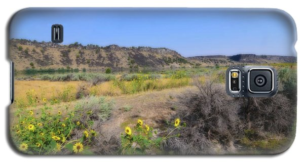 Galaxy S5 Case featuring the photograph Idaho Landscape by Bonnie Bruno