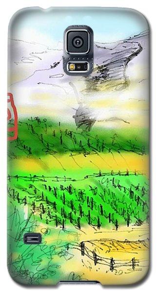 Idaho Vineyard Galaxy S5 Case