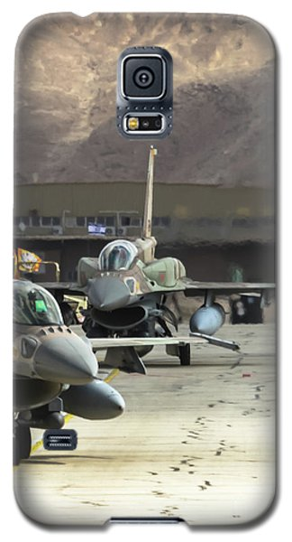 Idf/af F-16i Sufa - Blue Flag 2017 Galaxy S5 Case