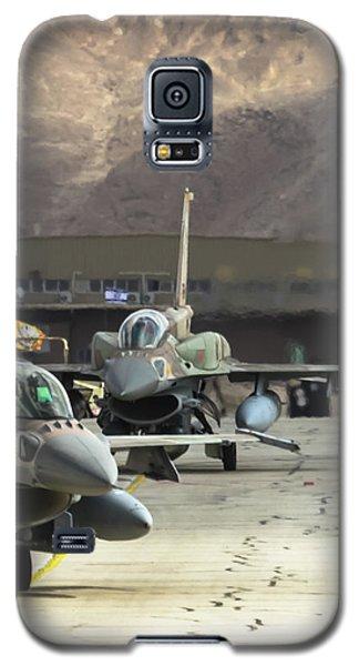Idf/af F-16i Sufa - Blue Flag 2017 Galaxy S5 Case