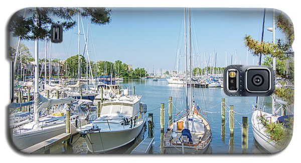 Idle Boats Back Creek Annapolis Galaxy S5 Case