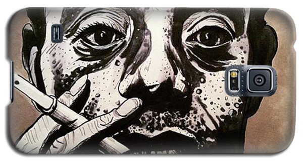 Galaxy S5 Case - James Baldwin by Russell Boyle
