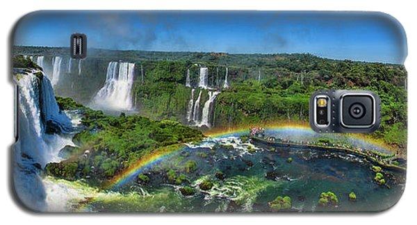 Iguazu Panorama Galaxy S5 Case by David Gleeson