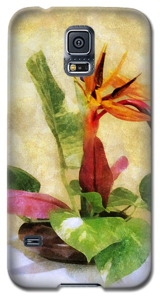 Ikebana Bird Of Paradise Galaxy S5 Case by Francesa Miller