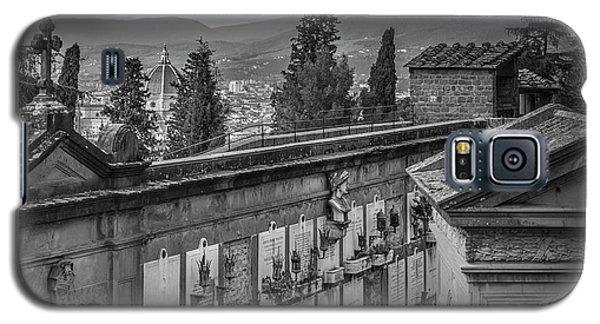 Il Cimitero E Il Duomo Galaxy S5 Case by Sonny Marcyan