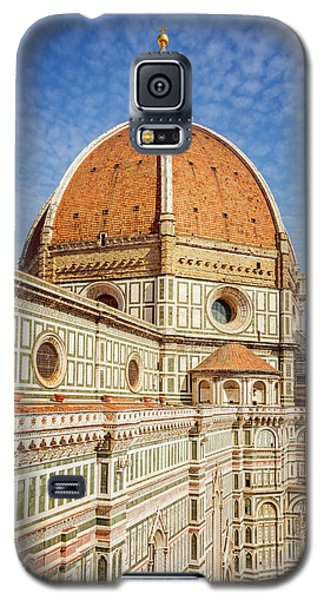 Galaxy S5 Case featuring the photograph Il Duomo Florence Italy by Joan Carroll