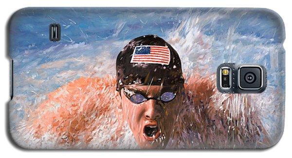 Dolphin Galaxy S5 Case - Il Nuotatore by Guido Borelli