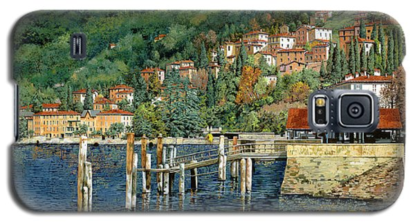 il porto di Bellano Galaxy S5 Case by Guido Borelli