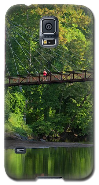 Ilchester-patterson Swinging Bridge Galaxy S5 Case