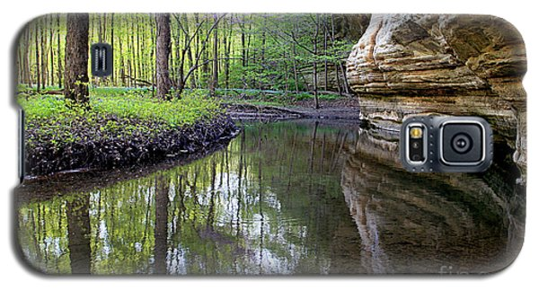 Illinois Canyon In Spring Starved Rock State Park Galaxy S5 Case