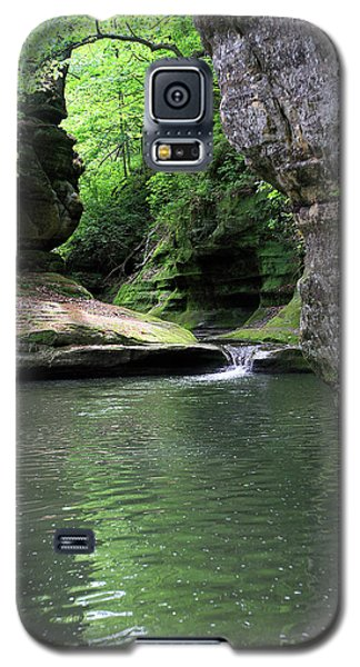Illinois Canyon Summer Galaxy S5 Case