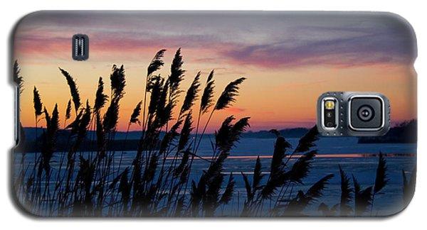 Illinois River Winter Sunset Galaxy S5 Case