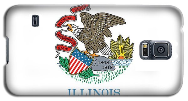 Illinois State Flag Galaxy S5 Case by American School