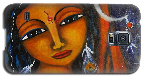 Galaxy S5 Case featuring the painting Illuminate by Prerna Poojara