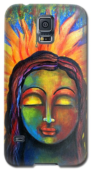 Illuminated By Her Own Radiant Self Galaxy S5 Case by Prerna Poojara